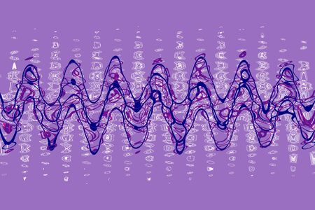 An abstract wavy line background image.