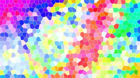 Ein abstraktes buntes Mosaikhintergrundbild.