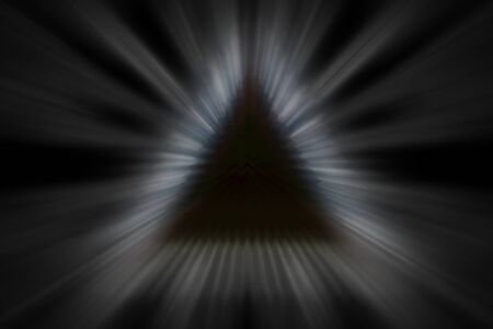 An abstract blurry pyramid background image.