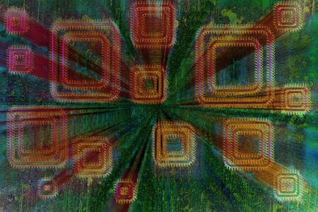 An abstract psychedelic background image.