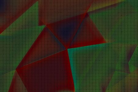 An abstract polygon background image.