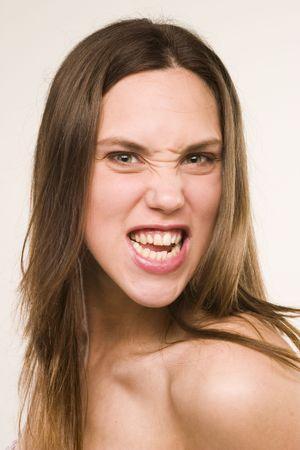 crazy girl Stock Photo - 2400243