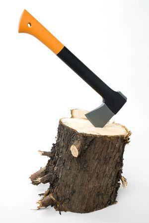 an axe