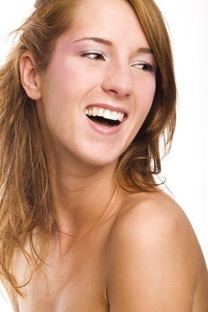laughing girl photo