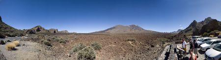 vulcano at Tenerife Stock Photo