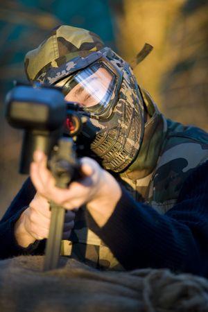 Paintball Commando
