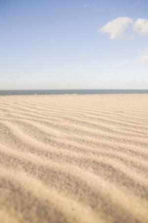 nederland: At the beach Stock Photo