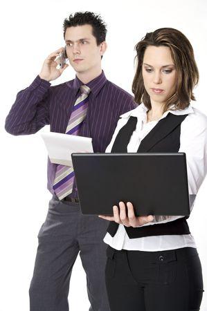 corporate couple photo