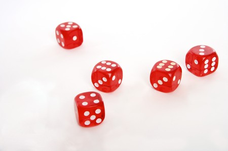 playing dice Stock Photo - 4271838