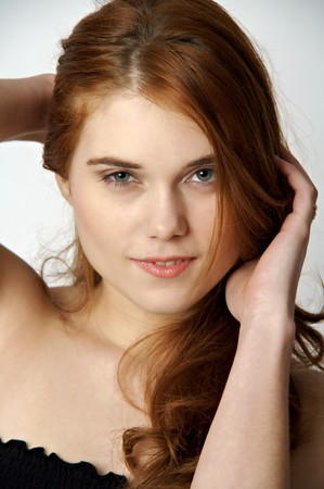 sexy young woman photo