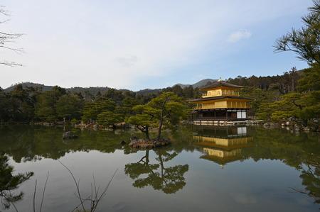 kyoto rokuonji kinkaku temple