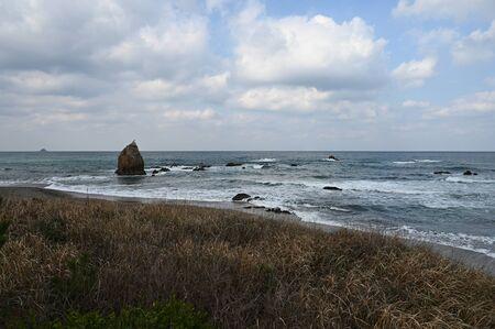 coastline hagin in winter