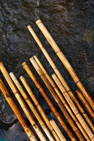 bamboo floating Stock Photo - 7114053