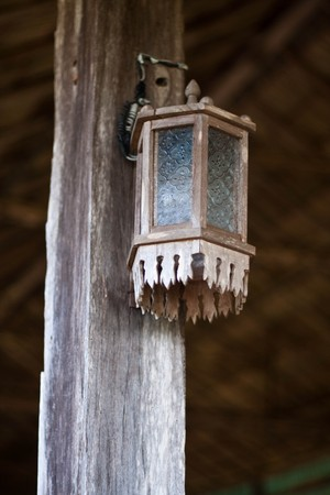 the wood lamp photo