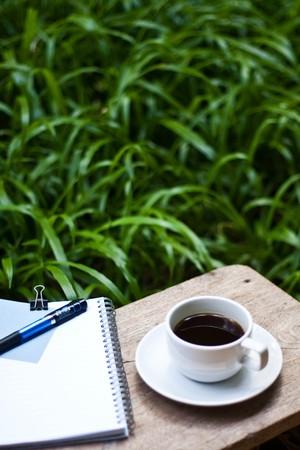 커피와 정원에서 메모입니다.