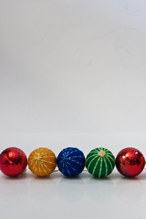 ball color on white background. photo