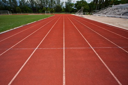 pista de atletismo: para la ejecuci�n