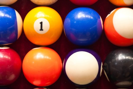 ball number one Stock Photo - 7419739