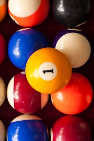 ball number one Stock Photo - 7419704
