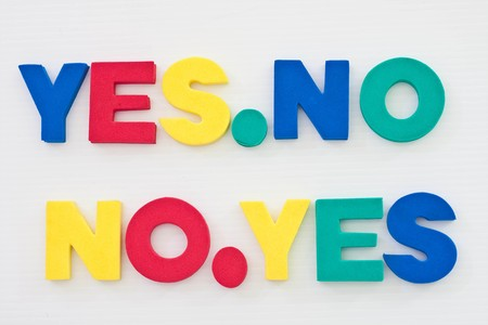 yes or on Stock Photo - 7419743