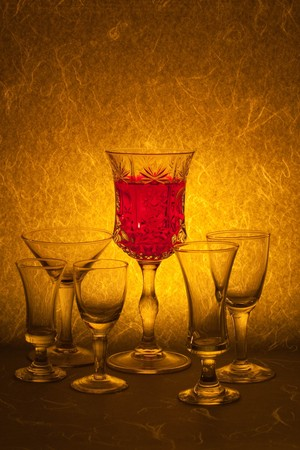 red wine on background photo