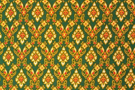 on the thai cloth photo
