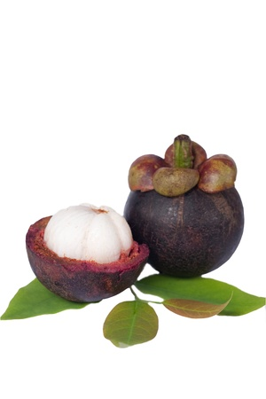 fruit on the white background Stock Photo