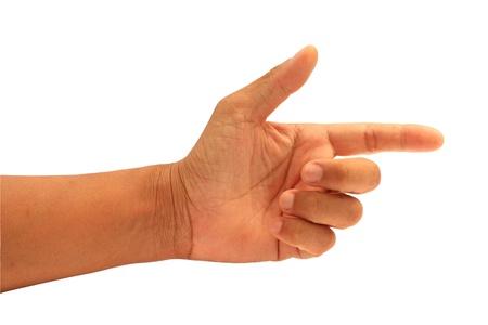 dictatorial: hand