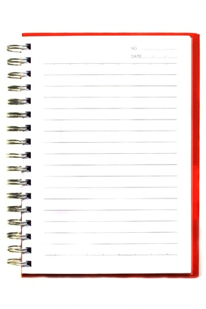 notebook page: notebook
