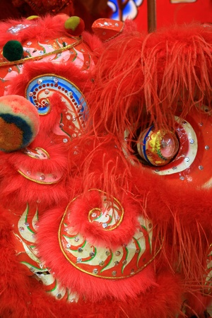 red lion chinese style photo