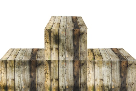 old wood pedestal photo