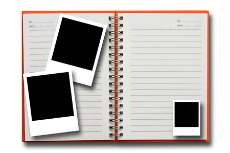 picture on note book Stock Photo - 8908110