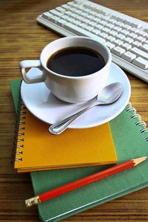 coffee and stethoscope photo