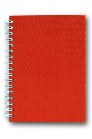 red note book photo