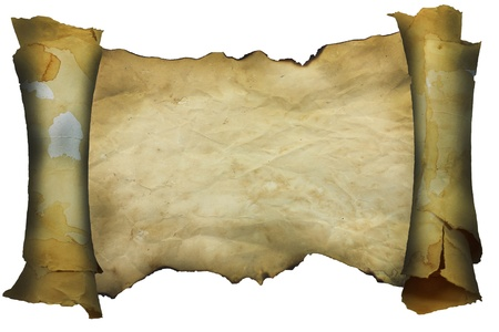 scroll up: old paper