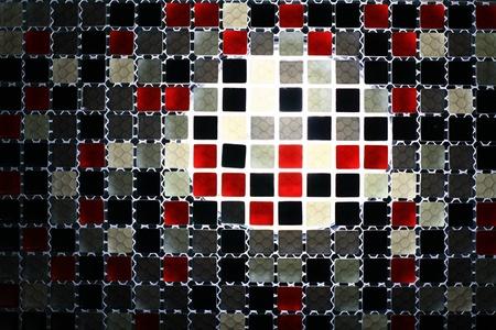 pattern on the mosaic Stock Photo