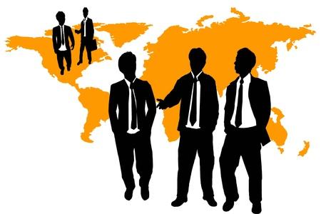 networking people: equipo de negocios