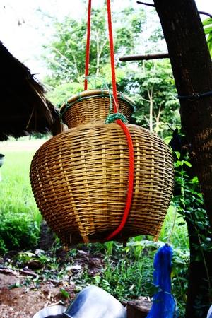 bamboo basket photo