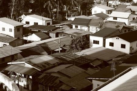 krottenwijk: sloppenwijk Stockfoto