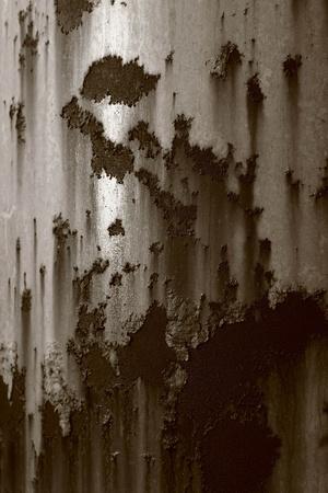 corrugated iron: old zinc background Stock Photo