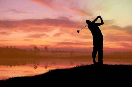ゴルフ 写真素材 - 18175996