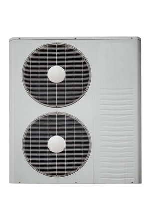 air-condition on white photo