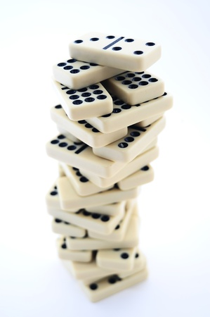 regimented: domino tower