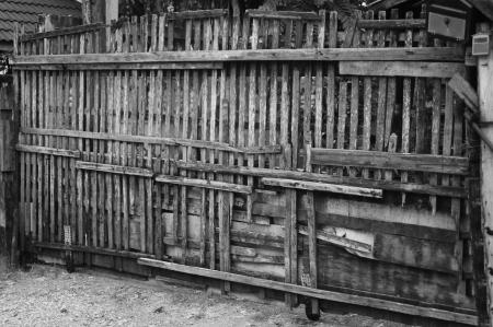 the old wood door photo