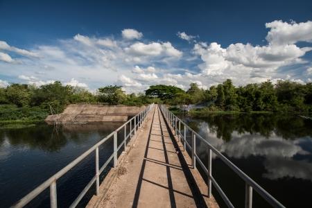 bridge on dam