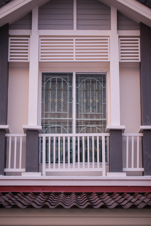 pattern on the house