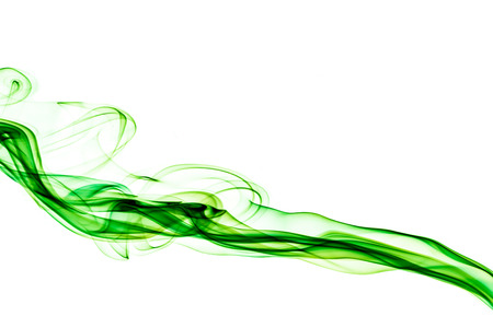 green smoke lighting abstract photo