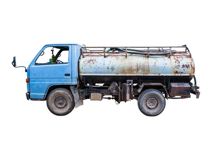 Old trucks for transport to the source  photo