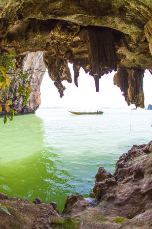 excursions: Marine Excursions in Phang Nga, Thailand.