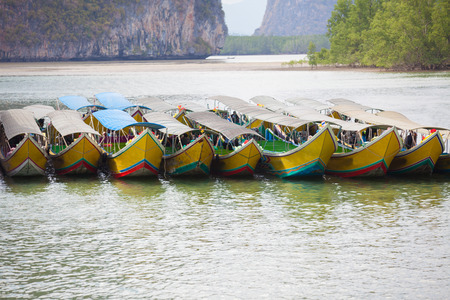 southern of thailand: Speedboat - send a Marine in southern Thailand.